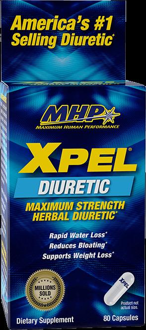 MHP Xpel. Maximum Strength Herbal Diuretic