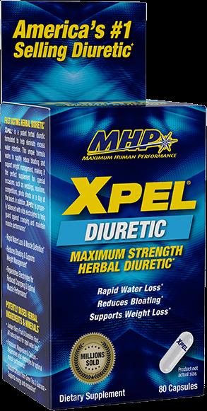 Mhp Xpel Maximum Strength Diuretic For Water Retention