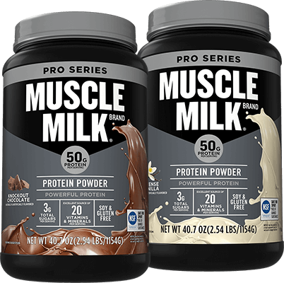 Muscle Milk Pro 50 Containers