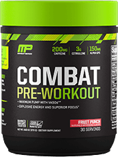 Combat Pre-Workout Container