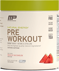 Natural Pre-Workout Container
