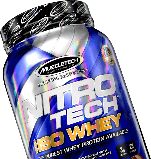 NITRO-TECH 100% ISO WHEY Container