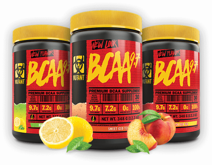 BCAA 9.7 Containers