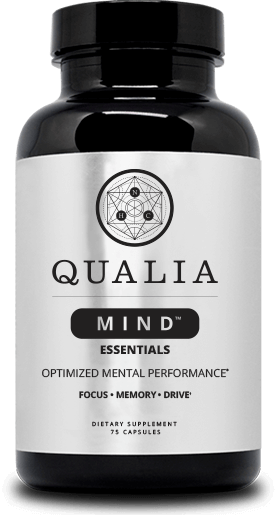 Aualia mind supplement bottle