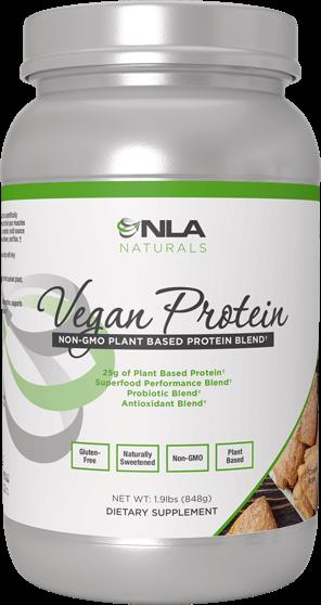 Vegan Protein Container