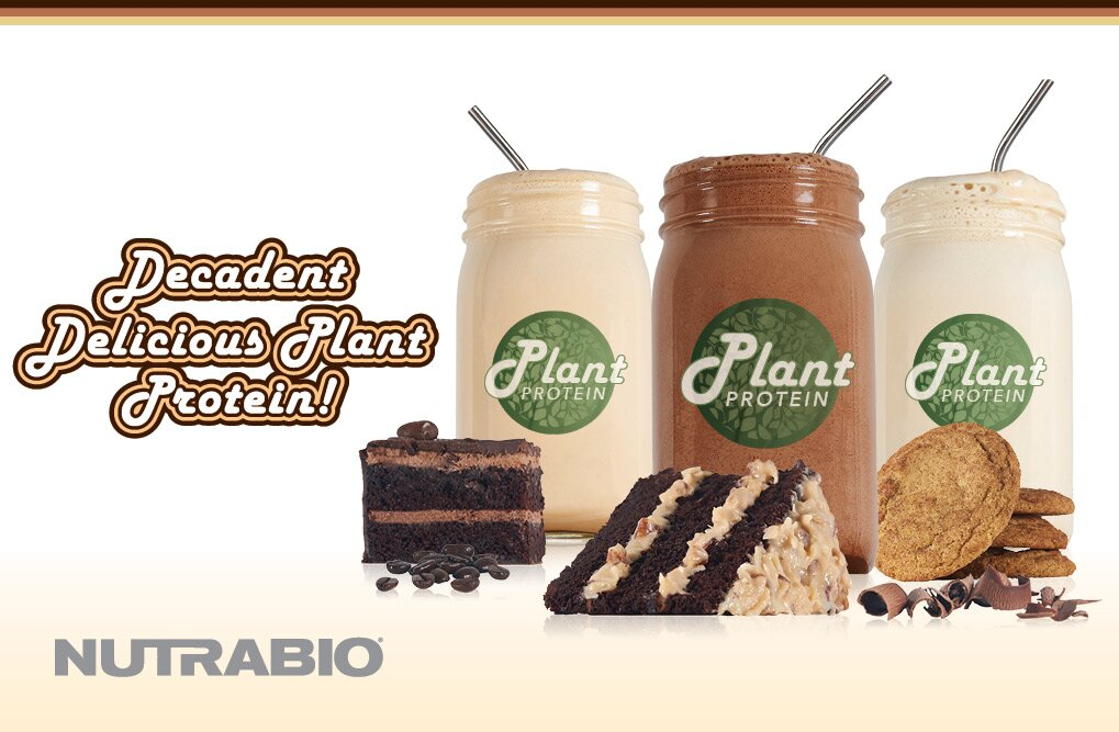 NutraBio Plant Protein - Supports Your Goals