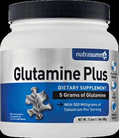Glutamine Plus Container