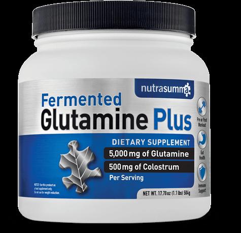 Fermented Glutamine Plus Container