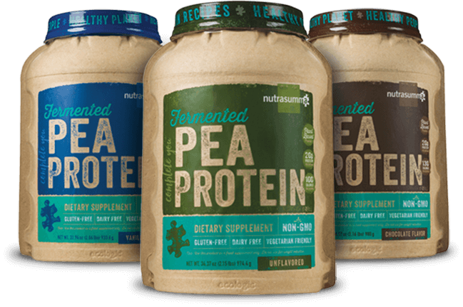 Pea Protein Containers