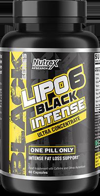 Lipo 6 Black Intense Bottle