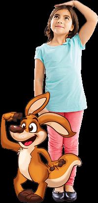 Child With Cartoon