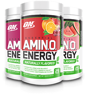 Essential AmiN.O. Energy Naturally Flavored Containers