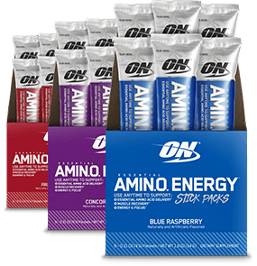 Essential AmiN.O. Energy Stick Packs