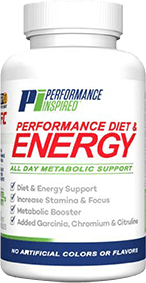 Performance diet and energy bottle