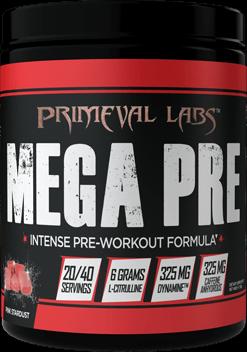 Mega Pre Black Bottle