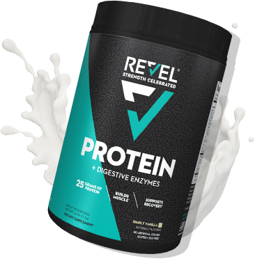 Revel Protein Container