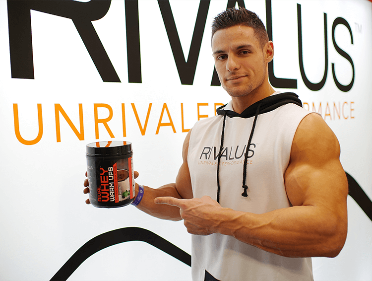 Rivalus Athlete with Whey Warm Ups