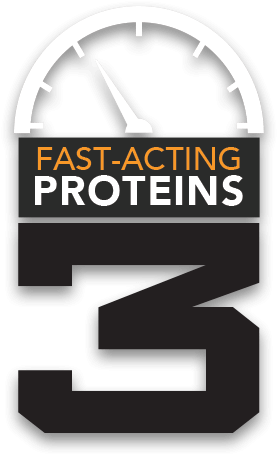 3 Fast-Acting Proteins