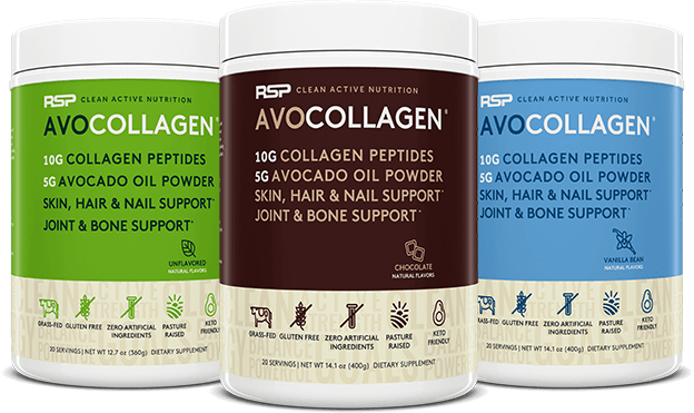 AvoCollagen Containers