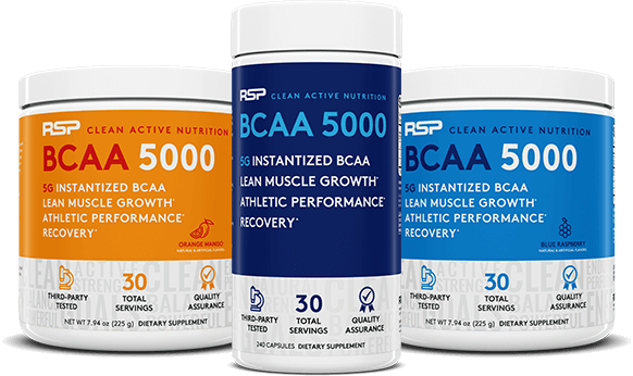 BCAA 5000 Containers