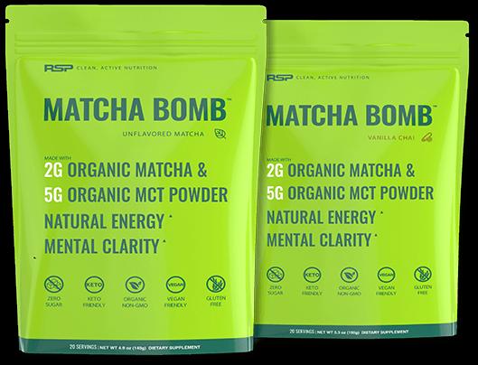 Matcha Bomb Bags