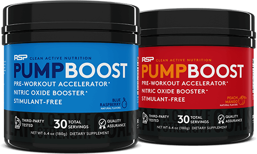 Pump Boost Containers
