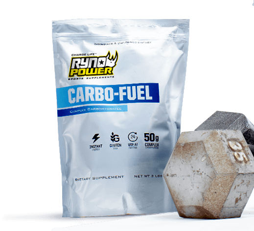 Carbo Fuel Bag & Dumbbell