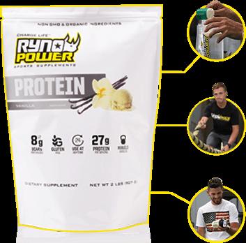Premium Whey Protein Bag