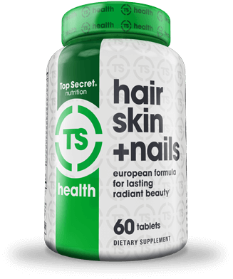 Hair Skin + Nails Container