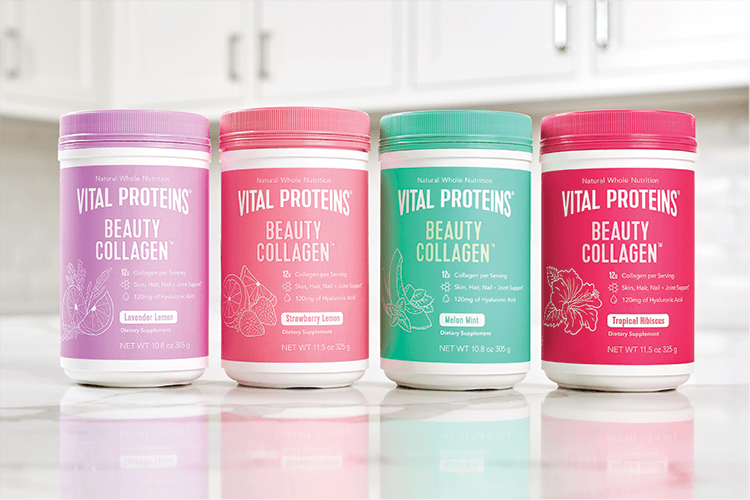 Beauty Collagen Containers