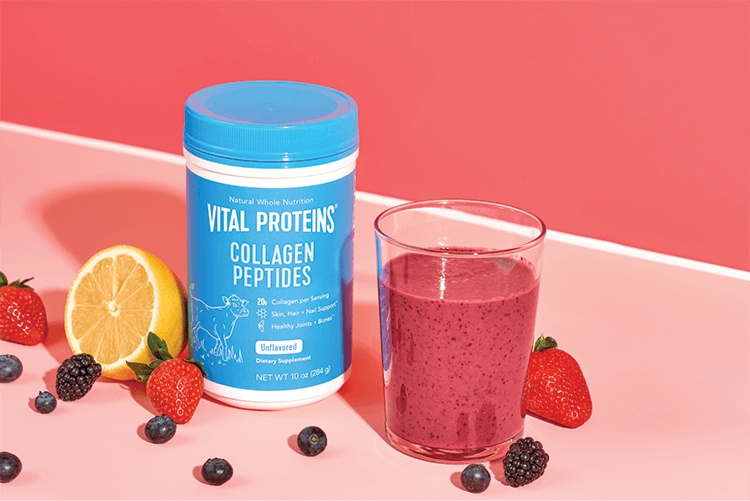 Collagen Peptides Fruit Shake
