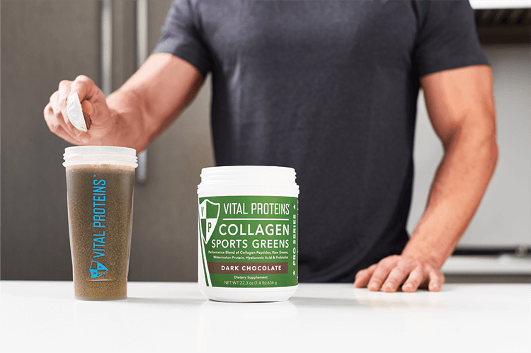 Collagen Sports Greens Powder