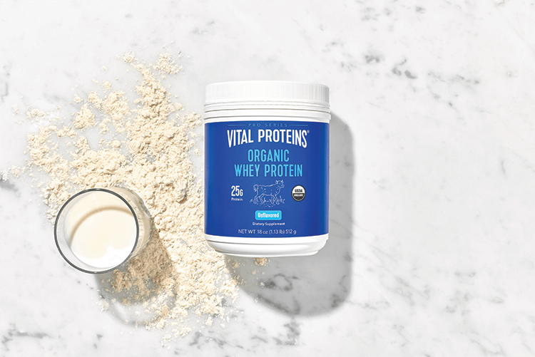 Organic Whey Protein Container