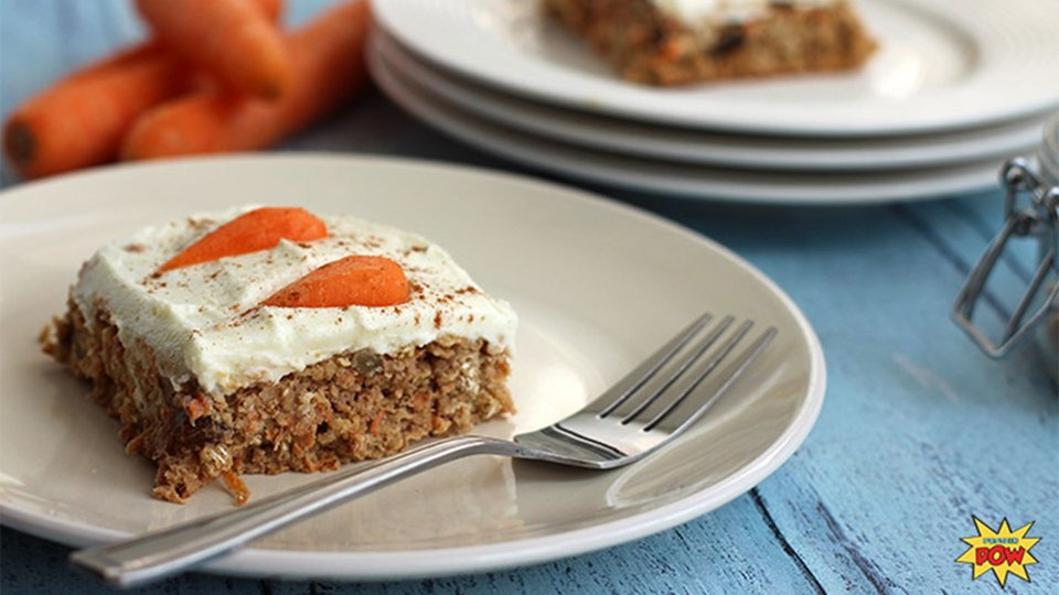 Healthy Protein-Packed Carrot Cake