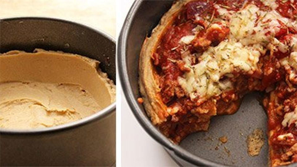Protein-Packed Pizza