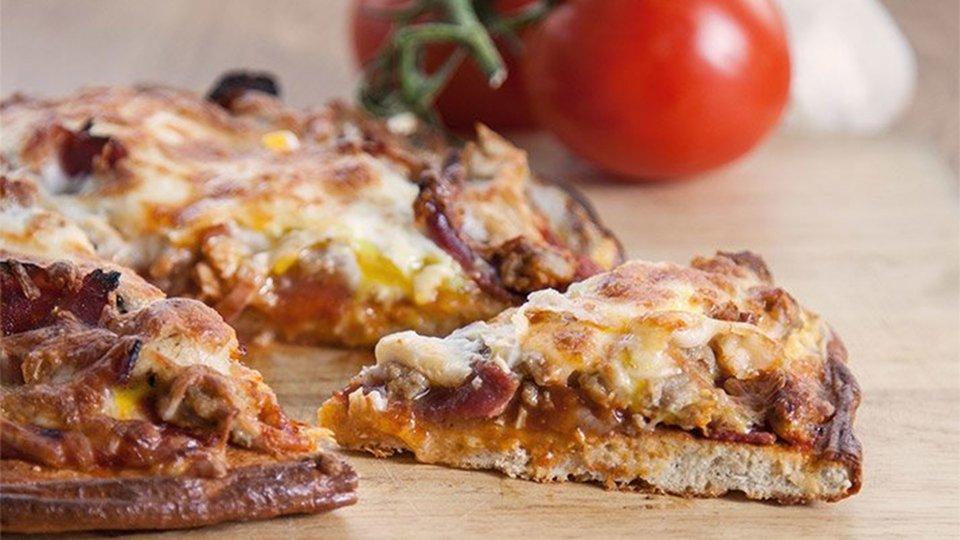 Protein Powerhouse Pizza