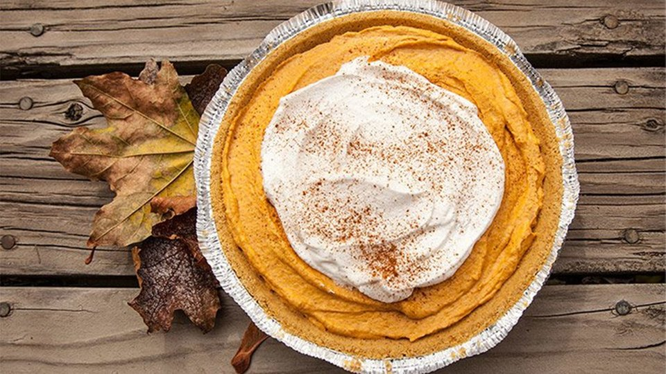 Protein Pumpkin Mousse Pie