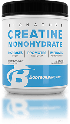 Bodybuilding.com Signature Creatine Monohydrate tub