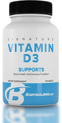 Bodybuilding.com Signature Vitamin D-3