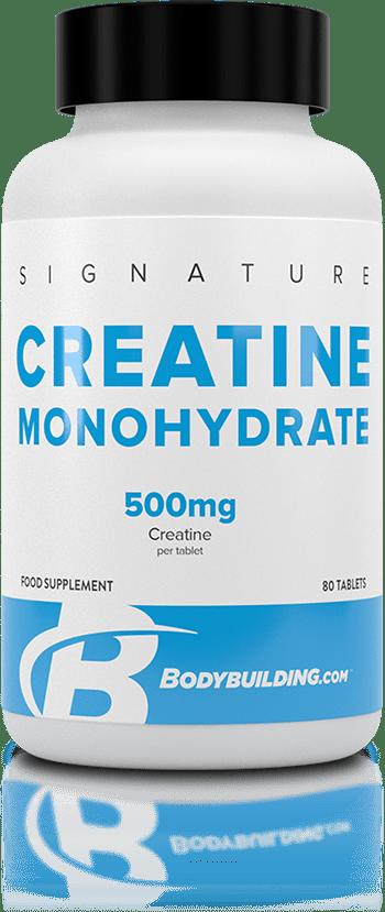 Bodybuilding.com Signature Creatine Monohydrate tub