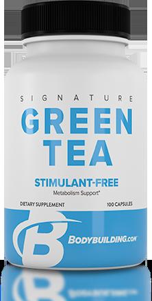 Bodybuilding.com Signature Green Tea bottle