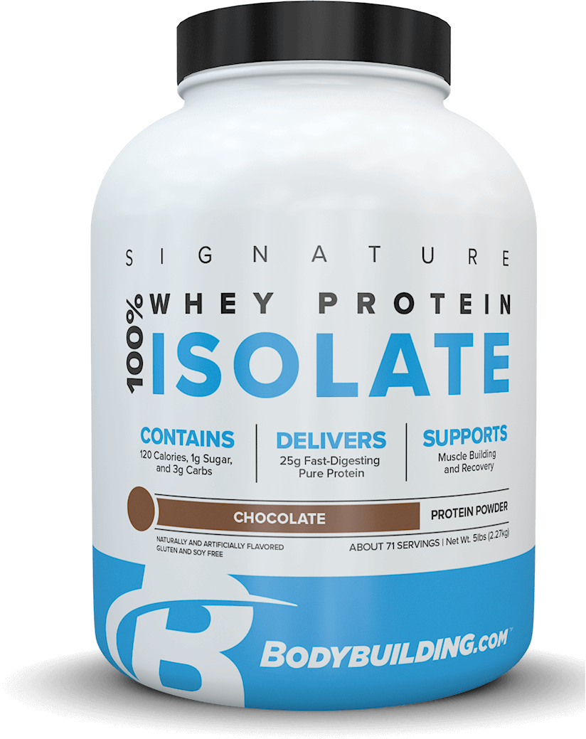 Bodybuilding.com Signature 100% Whey Protein Isolate