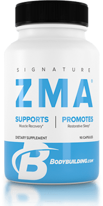 Bodybuilding.com Signature ZMA bottle