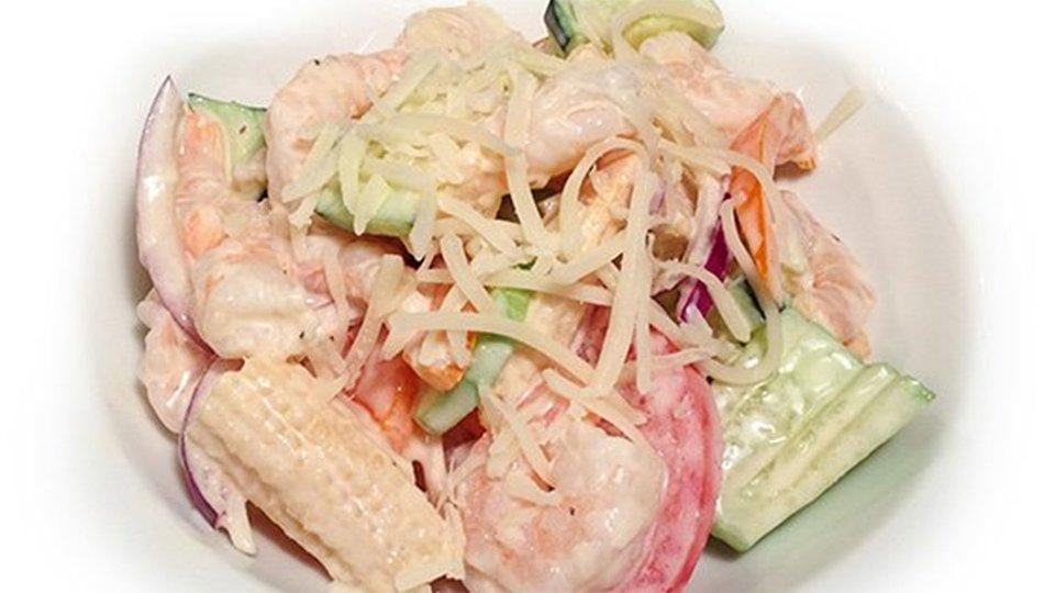 Tomato And Shrimp Salad