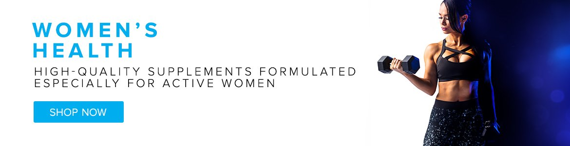 Women's Health. High-Quality Supplements Formulated Especially For Active Women