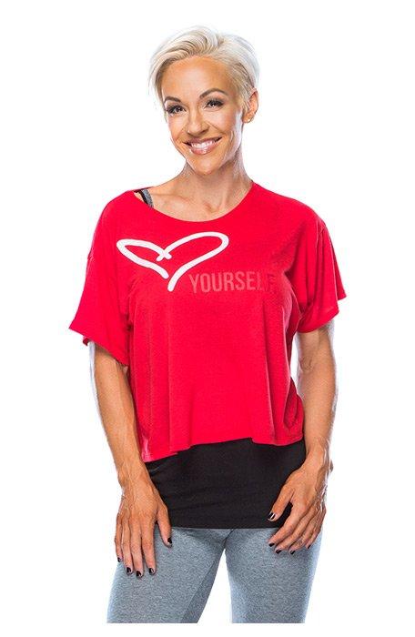 Jessie Fitness Love Yourself! Tee