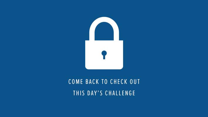 Challenge Locked
